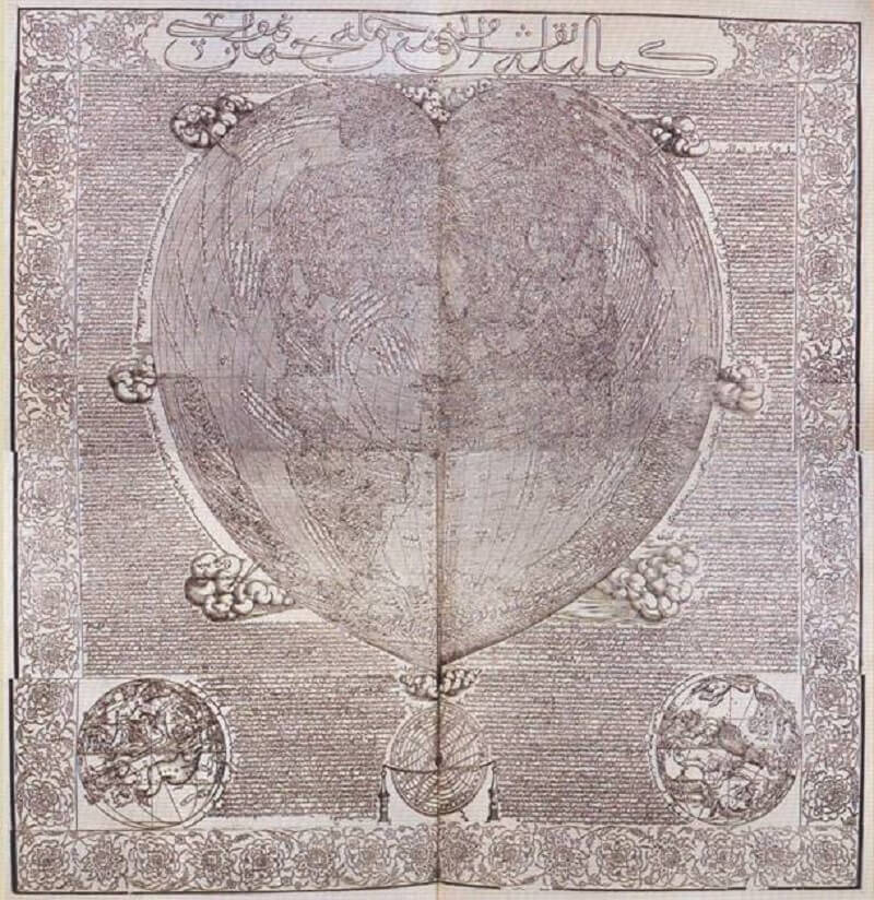 Hadji Ahmed's map, 1559. Wikipedia
