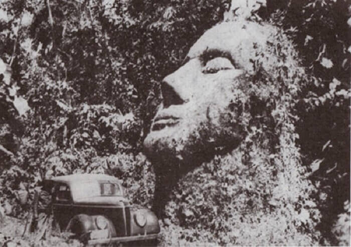 The Giant Stone Head That Kept Its Secret