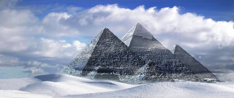Pyramids of Giza were weapons