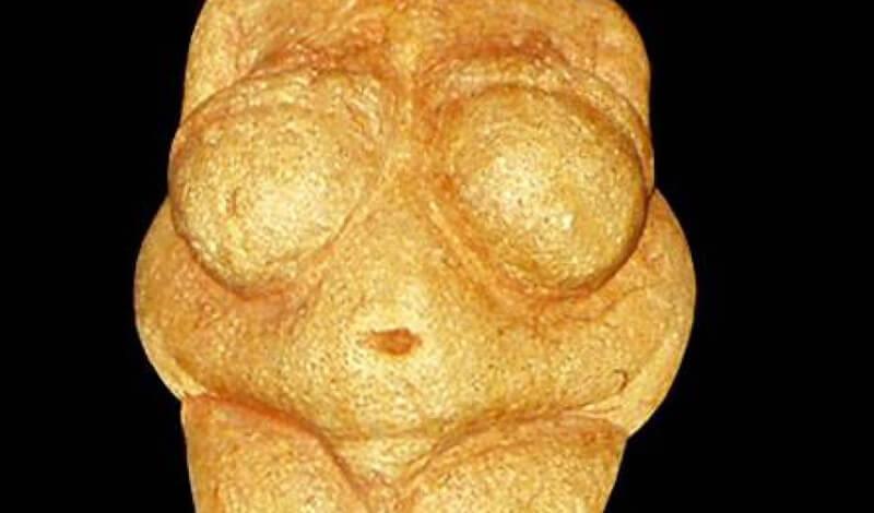 Venus Of Willendorf. The natural history Museum, Vienna