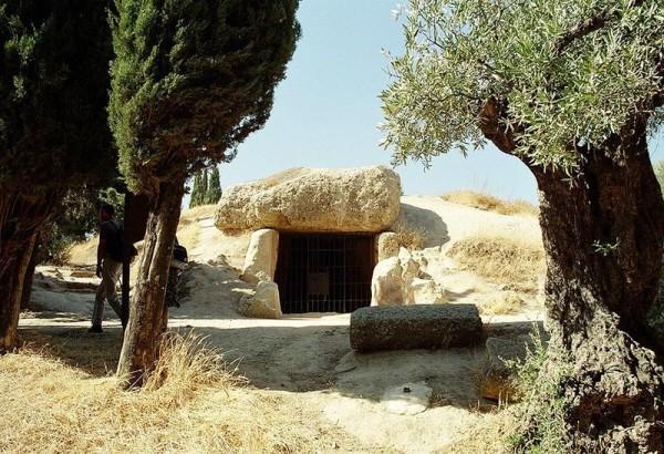 The Menga Dolmen. Wikipedia