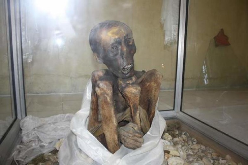 strange mummy
