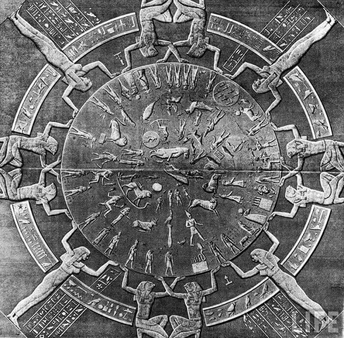 Dendera Zodiac, Дендера зодиак