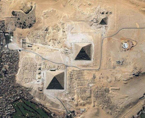 пирамиди, Egyptian pyramids