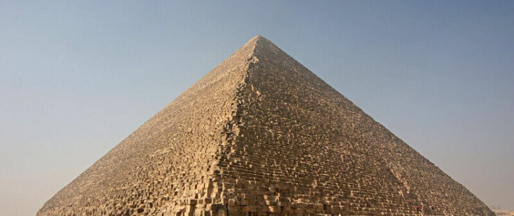 The Great Pyramid in Egypt contains two unknown chambers