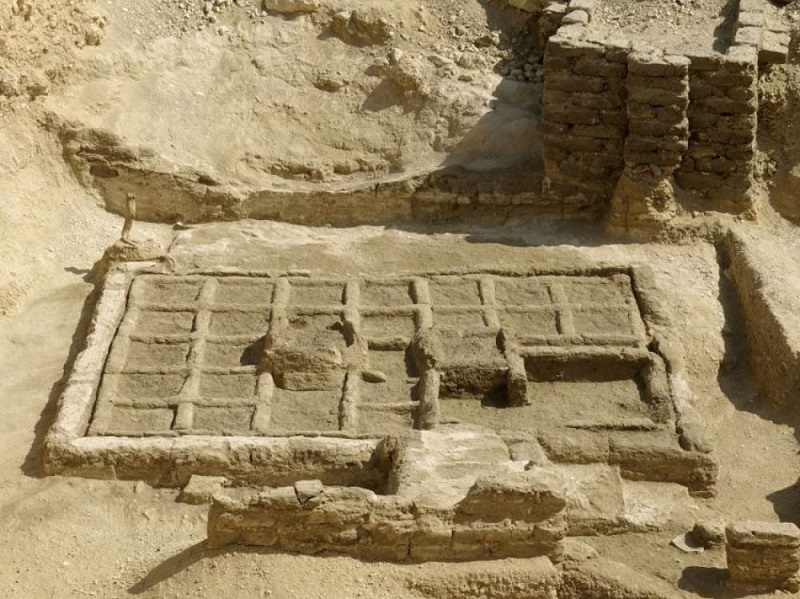 An ancient funerary garden of 4000 years, discovered near Luxor, the ancient Thebes (Egypt). CREDITS: CSIC