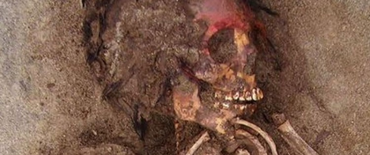 The largest child sacrifice site in pre-Hispanic America was discovered on the northern coast of Peru, in Huanchaquito. Credits: Courtesy Gabriel Prieto / National Geographic