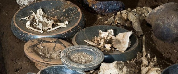 A fascinating ancient burial discovered near Rome