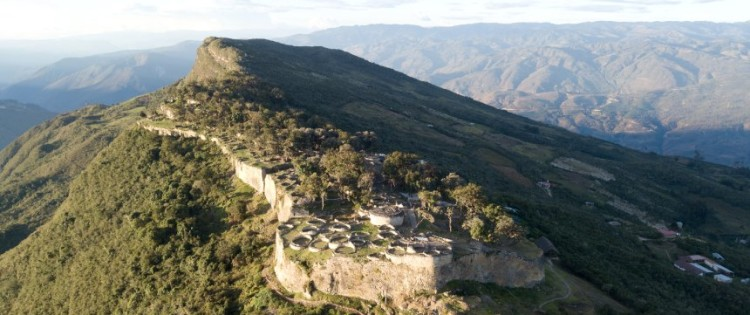 "Two Germans discover village of the Chachapoya ""Mist Warriors"" in Peru"