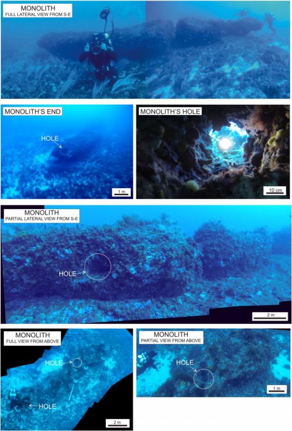 underwater monolith